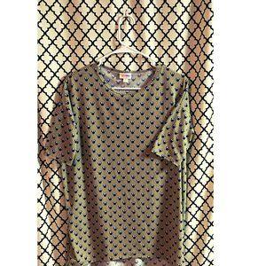 Women's LULAROE Disney Tee Shirt Minnie (XXS)